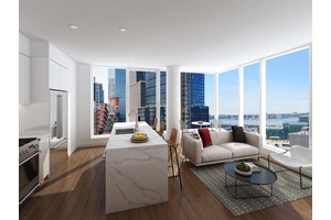 36 Hudson Yards, Brand New Full  Service Building, 1 Bed 1 Bath, W/D, High Ceilings, Floor to Ceiling Windows, Gym, No Fee